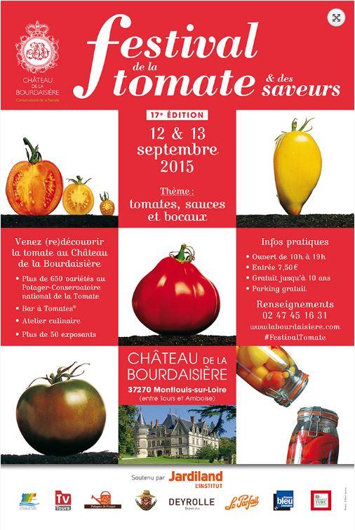 17 me dition du festival de la tomate au ch teau de la bourdaisi re fibreries de touraine. Black Bedroom Furniture Sets. Home Design Ideas